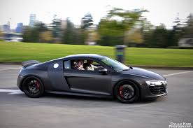 black matte audi r8 ultracollect audi r8 black and images
