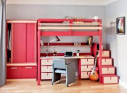 bureau sous lit mezzanine idees lit mezzanine bureau integre best 25 lit surlev avec bureau