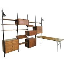Modern Wall Desk George Nelson Omni Wall Unit For Sale At 1stdibs