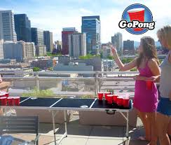 diy beer pong tables the backyard site