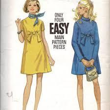 shop 60s style dress patterns on wanelo