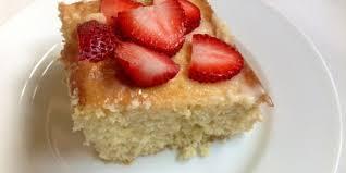 easy tres leches sheet cake recipe genius kitchen