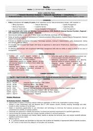Mobile Application Testing Sample Resume by Telecom Manager Sample Resumes Download Resume Format Templates