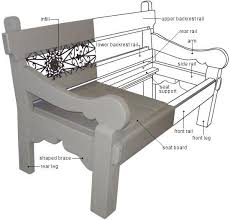 Free Wooden Park Bench Plans by 43 Best Project Plan Drawings Images On Pinterest Woodworking