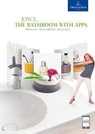 joyce the bathroom with apps villeroy u0026 boch pdf catalogues