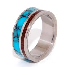 Turquoise Wedding Rings by Wedding Rings Minter And Richter Designs