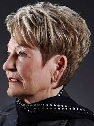 short hairstyles for older women pictures hair style and color