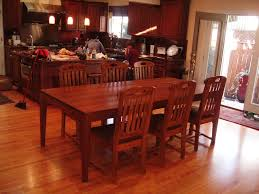 Oak Dining Room Tables Furniture Farmhouse Dining Furniture Sets Ideas With Long Narrow