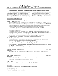 Consulting Resumes Examples Sample Resume Hotel Revenue Manager Templates
