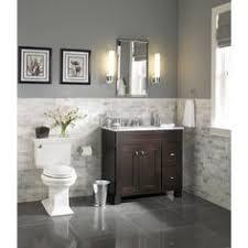 Bathroom Vanities At Lowes Shop Allen Roth Cromlee Bark Vessel Poplar Bathroom Vanity With