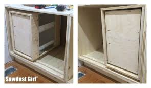 How To Build A Cabinet Box Diy Corner Cabinet With No Wasted Space Sawdust