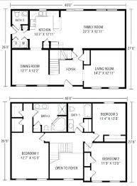 open floor house plans with photos floor plan for two storey house two story house plans with open
