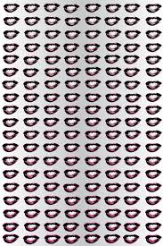 contemporary wallpaper patterned printed marilyn u0027s lips by