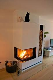 Fireplace Ideas Modern Centered Raised Hearth Running Straight Across Diy Home Group