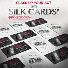 silk business card printing uz marketing