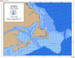 map canada east coast east coast water depth map canada ca