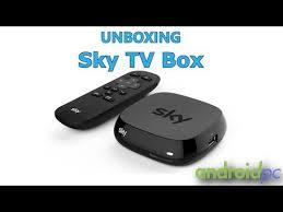 canap en sky unboxing sky tv box para ver contenidos canal sky españa