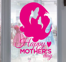 mothers day stickers happy s day window sticker tenstickers