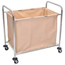 Ideas For Laundry Carts On Wheels Design Decor Tips Luxor Heavy Rolling Laundry Cart With Her For