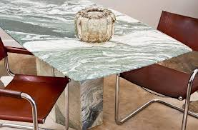 marble base table l verde luana marble top and base dining table at 1stdibs