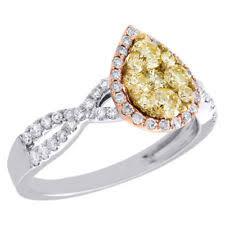 teardrop engagement rings teardrop ring ebay