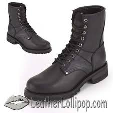 motorcycle footwear mens mens biker leather motorcycle boots lace up front wide width