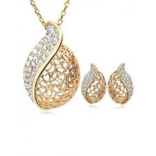 gold earrings price in pakistan buy women s jewelry sets online in pakistan kaymu pk