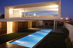 modern contemporary architecture modern house home pool interior