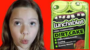 dirt cake halloween lunchables dirt cake halloween kid candy reviews babyteeth4