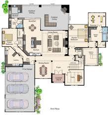 Floor Plans Of Homes Sterling Custom Homes U2013 Austin Parade Of Homes