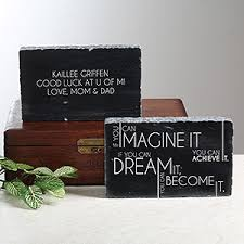 personalized keepsake personalized marble graduation keepsake inspiring messages
