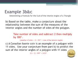 Formula For Interior Angles Of A Polygon Topic 2 Angle Properties In Triangles Unit 2 Topic Ppt Download