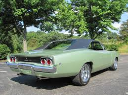 1968 dodge charger green 1968 dodge charger rotisserie resto spectacular car 383