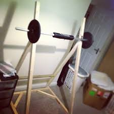 Diy Wood Squat Rack Plans by 117 Best Homemade Fitness Equipment Images On Pinterest Garage