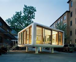 Prefab Rooms Loftcube Tiny Prefab Mobile Loft Idesignarch Interior Design