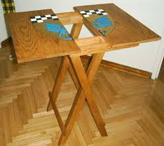 Wood Folding Table Plans Wood Folding Tray Table Plans Folding Table Design
