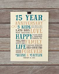 15 year anniversary gift ideas for him anniversary gifts 15 year anniversary present for him husband