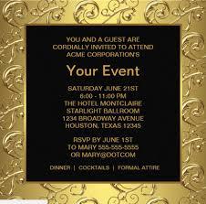 15 printable corporate invitation templates psd ai indesign