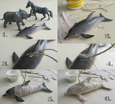 diy animal ornaments pleasure in simple things