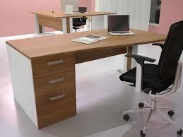 bureau avec caisson dossier suspendu bureau avec caisson