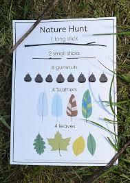 nature treasure hunt free printable and pretty mobile how to