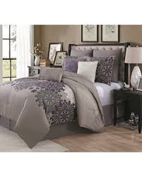 Plum Bed Set Deal Alert Avondale Manor 9 Comforter Set Plum