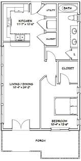 24x24 country cottage floor plans yahoo image search results 22x36 house 22x36h1 792 sq ft excellent floor plans