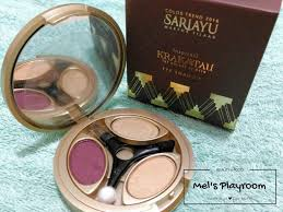 Aplikasi Eyeshadow Sariayu sponsored mels playroom