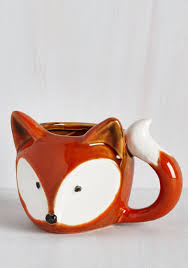 Modcloth Home Decor Tabletop A Real Fox Er Upper Mug Tea Time Pinterest