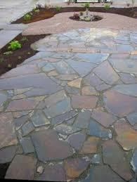 Outdoor Slate Patio Slate Paver Mesh Backed Paver Quartzite Flagstone Slate Patio