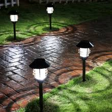 Solar Powered Fence Lights - compare prices on steel security fencing online shopping buy low