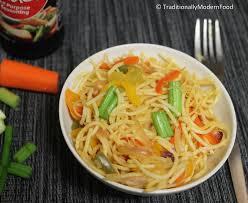 hakka cuisine recipes veg hakka noodles