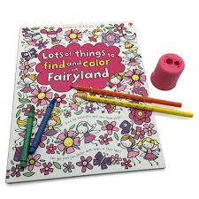 lots color fairyland coloring books