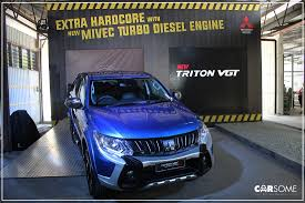 mitsubishi adventure modified mitsubishi triton vgt now with mivec carsome malaysia